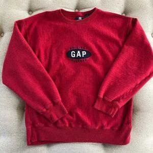 Vintage GAP Logo Sweatshirt Men's L